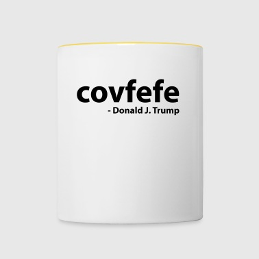Covfefe - Donald J. Trump - Mok tweekleurig