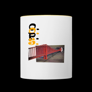 Golden gate - Contrasting Mug