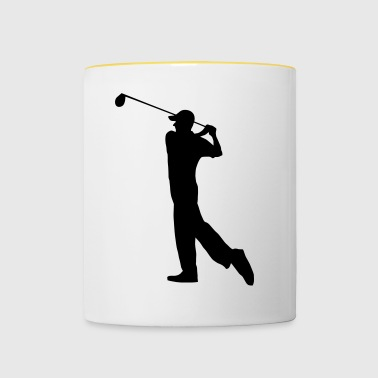 Golf Ball - Golf - Tazze bicolor