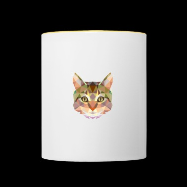 Me gustan los gatos. Cool Cat Lover Gifts Animal Lover. - Taza en dos colores