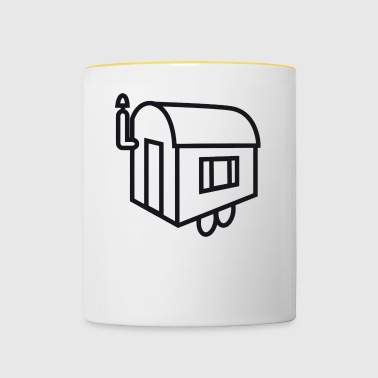 mobile Home - Mug contrasté