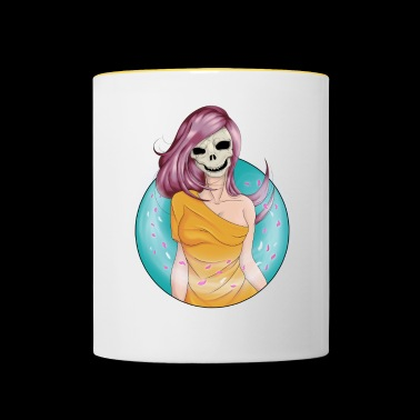 Skull of the wind - Contrasting Mug