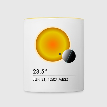 23 degrees - Contrasting Mug