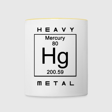 heavy Metal - Mok tweekleurig