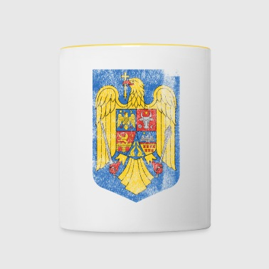 Romanian Coat of Arms Romania Symbol - Contrasting Mug