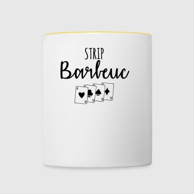 Strip barbeuc - Contrasting Mug