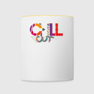 CHILL OUT - Taza en dos colores