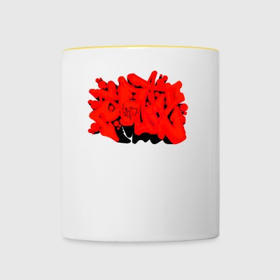 Graffiti SAD - Tasse bicolore
