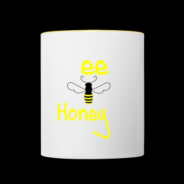 bee my honey - Contrasting Mug