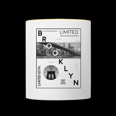 Brooklyn Limited Edition! Brooklyn Bridge idé - Tvåfärgad mugg