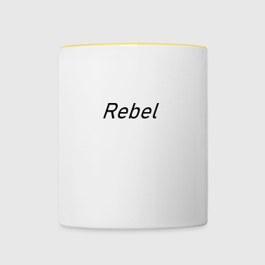 rebel - Mok tweekleurig