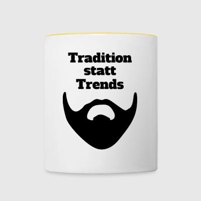 Tradition instead of trends - Contrasting Mug