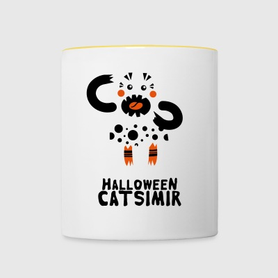 Halloween Cat Simir - Tazze bicolor