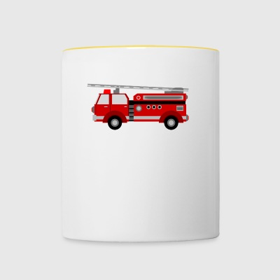 fire Department - Contrasting Mug