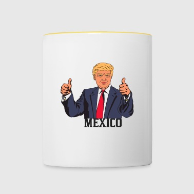 TRUMP MEXICO - Tasse bicolore