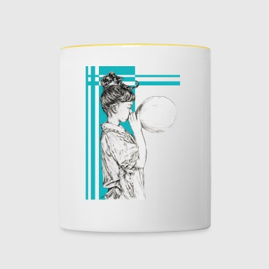 Blowing dreams - Contrasting Mug