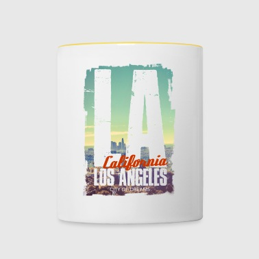 City of dreams - Tasse bicolore