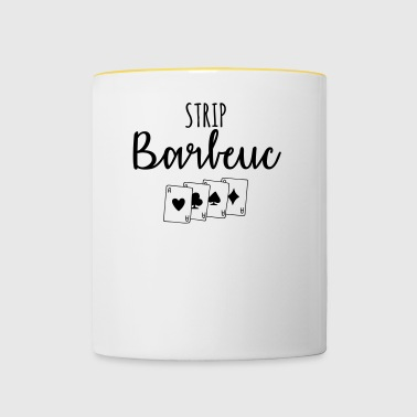 Strip barbeuc - Mug contrasté