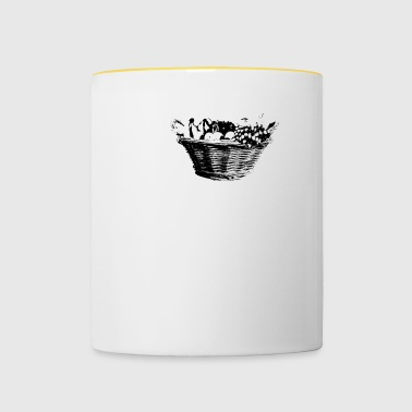 fruit basket - Contrasting Mug