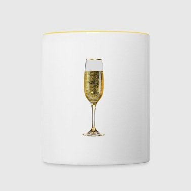 Champagne champagne glass - Tofarget kopp