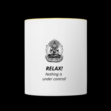 Citation spirituelle - Bouddha - Mug contrasté