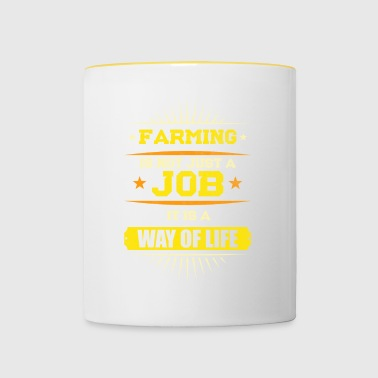 Farmer Agriculture is not just a job - Contrasting Mug