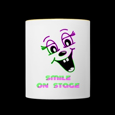 Smile on stage - Contrasting Mug