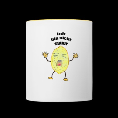 Lemon that is not sour - Contrasting Mug