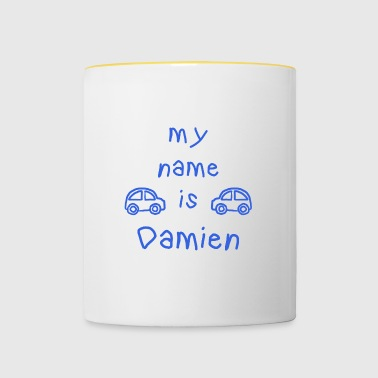 DAMIEN MY NAME IS - Mug contrasté