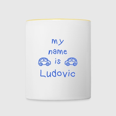 LUDOVIC MY NAME IS - Tasse bicolore