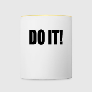 DO IT! - Tasse zweifarbig
