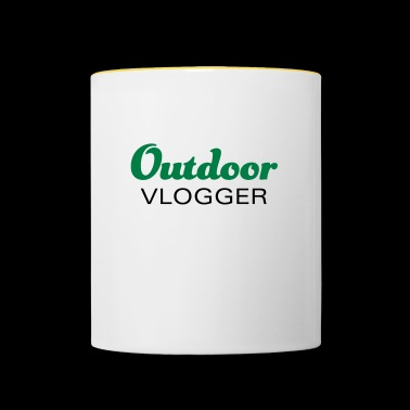 Outdoor vloggers and nature lovers - Contrasting Mug