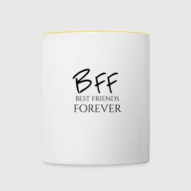 BFF Best Friends Forever - Tazze bicolor