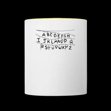 Stranger Things - Noir - Mug contrasté