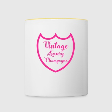 Luxury Luxury Design Luxurious Champagne Pink - Contrasting Mug