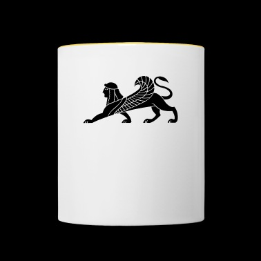 mythical creatures - Contrasting Mug