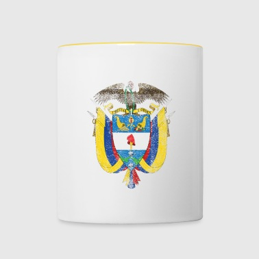 Colombia Coat of Arms Colombia Symbol - Contrasting Mug