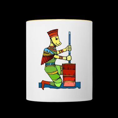 Cartoon creature cartoon - Contrasting Mug