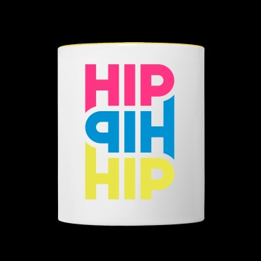 Hip Hip Hip - Customizable - Contrasting Mug