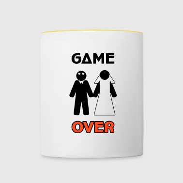 Farewell to the Celibacy - Game Over - Contrasting Mug