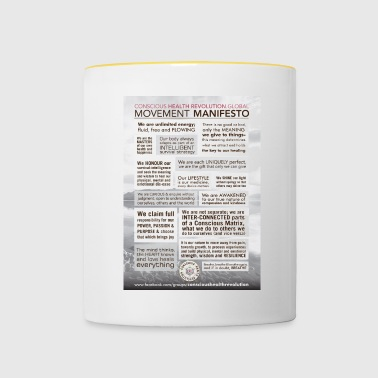 Movement Manifesto - Contrasting Mug