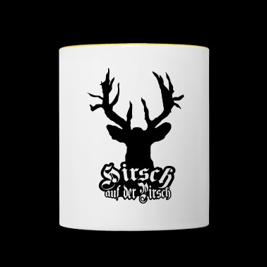 Deer on the stalking cult - Contrasting Mug