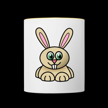Joey the rabbit - Contrasting Mug