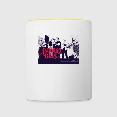 Andorra Bills - Fan - Tasse zweifarbig