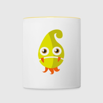 Zipfeline - 70s Monster Collection - Contrasting Mug