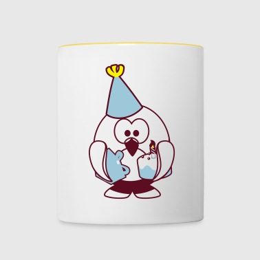 Linux celebration - Contrasting Mug