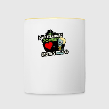 Undead is not dead - Contrasting Mug