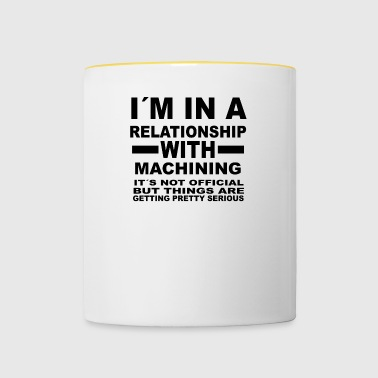 relationship with MACHINING - Contrasting Mug