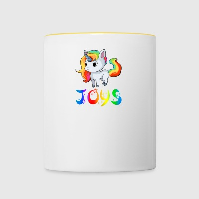 Joy's unicorn - Contrasting Mug