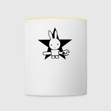 outil Hase - Tasse bicolore